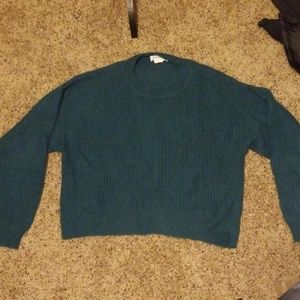 NWOT Green Medium Comfy Sweater